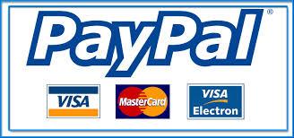 Paypal y tarjeta de crédito